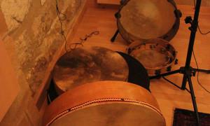Agricantus ad AltaQuota Studio: i tamburi di Massimo Laguardia