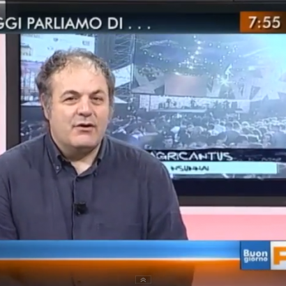 """TG3 RAI – Agricantus a """"Buongiorno Regione"""""""